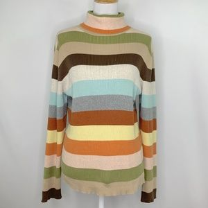 Old Navy Sweaters - 🍍Old Navy Multicolor Stripe Sweater